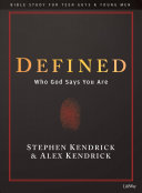 Defined - Teen Guys Bible Study Book