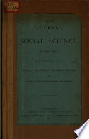Social Economy Papers of 1887
