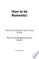 Romantic Tips Book PDF