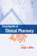 Encyclopedia of Clinical Pharmacy (Online) [Pdf/ePub] eBook