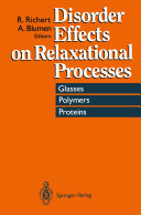 Disorder Effects on Relaxational Processes [Pdf/ePub] eBook