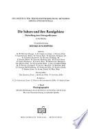 Die Sahara und ihre Randgebiete: Physiogeographie. ; Bd. 2. Humangeographie. ; Bd. 3. Regionalgeographie