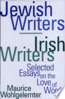 Jewish Writers/Irish Writers