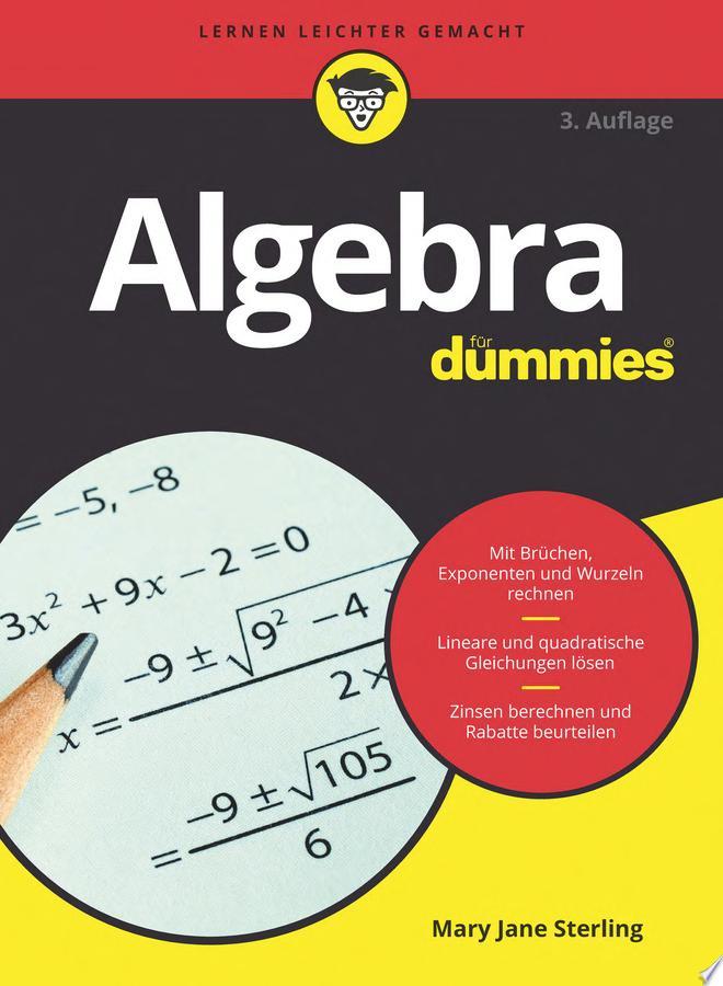 Algebra f  r Dummies
