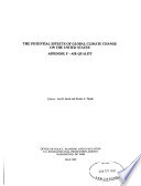 The Potential Effects Of Global Climate Change On The United States Book PDF