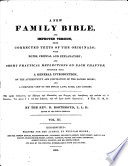 A New Family Bible  and Improved Version     With Notes  Critical and Explanatory     By the Rev  B  Boothroyd