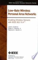 Low-rate Wireless Personal Area Networks
