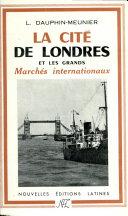 Pdf La Cite De Londres Par L. Dauphin-Meunier Telecharger