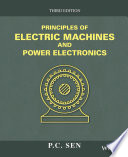 Principles of Electric Machines and Power Electronics, 3rd Edition