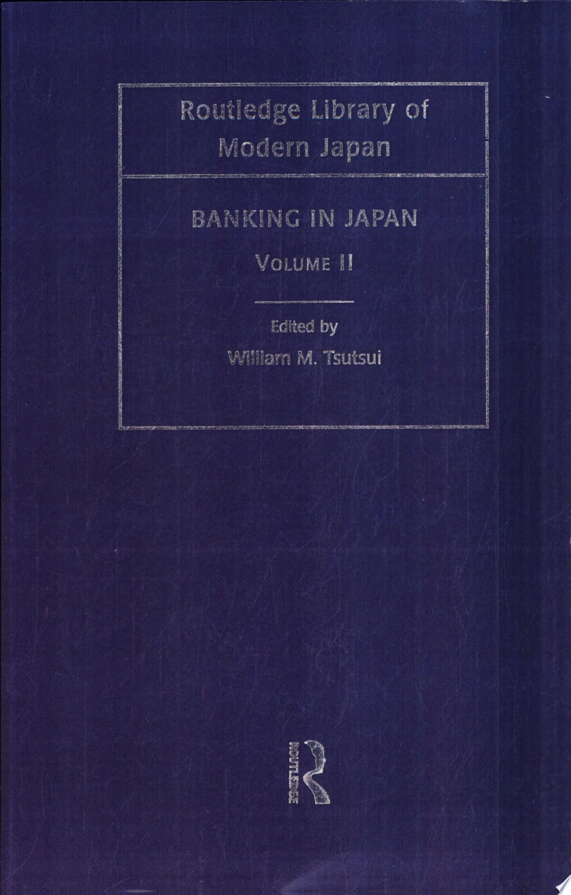 Banking in Japan: Japanese banking in the high-growth era, 1952-1973 banner backdrop