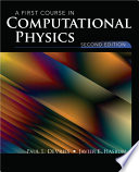 A First Course in Computational Physics