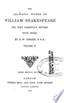The Dramatic Works of William Shakespeare  Comedy of errors   Much ado about nothing   Love s labour s lost   Midsummer night s dream   Merchant of Venice