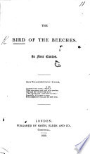 The Bird Of The Beeches In Four Cantos