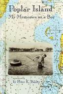 Poplar Island Book PDF