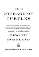 the courage of turtles fifteen essays about compassion pain and front cover