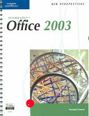 Microsoft Office 2003 Book
