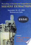 Proceedings of the International Symposium on Solvent Extraction  ISSE  Book