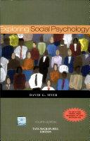 Exploring Social Psychology 4E