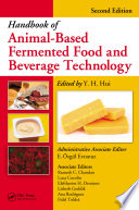 """""""Handbook of Animal-Based Fermented Food and Beverage Technology"""" by Y. H. Hui, E. Özgül Evranuz"""