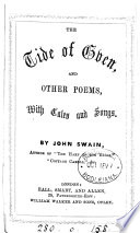 The Tide of Even  and Other Poems  with Tales and Songs