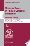 Universal Access in Human Computer Interaction  Addressing Diversity Book