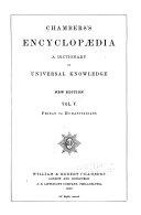 Pdf Chambers's Encyclopædia