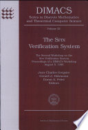 The Spin Verification System Book PDF