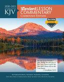 KJV Standard Lesson Commentary(r) Casebound Edition 2020-2021