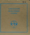 Forecasters Development Course