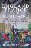 England, France and Aquitaine Pdf/ePub eBook