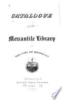 Catalogue of the Mercantile Library of the City of Brooklyn