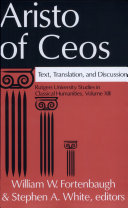 Aristo of Ceos