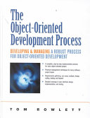 The Object oriented Development Process