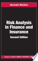 Risk Analysis in Finance and Insurance  Second Edition Book
