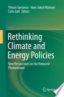 Rethinking Climate and Energy Policies