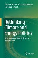 Rethinking Climate and Energy Policies Pdf/ePub eBook