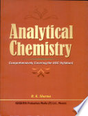 Analytical Chemistry   Comprehensively Covering The UGC Syllabus