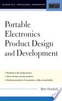 Portable Electronics Product Design and Development