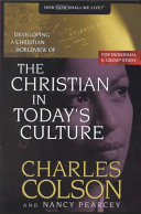 The Christian in Today's Culture