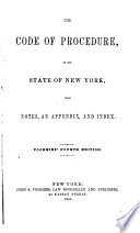 The Code of Procedure of the State of New York