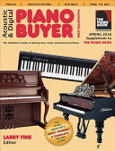 Acoustic & Digital Piano Buyer Spring 2018