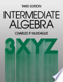 Intermediate Algebra Book
