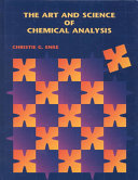 The Art and Science of Chemical Analysis Book