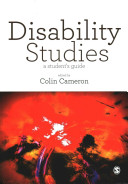 Cover of Disability Studies