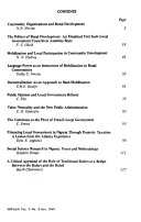Nigerian Journal Of Public Administration And Local Government