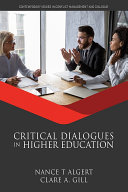 Critical Dialogues in Higher Education