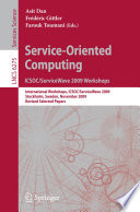 Service Oriented Computing  ICSOC ServiceWave 2009 Workshops Book