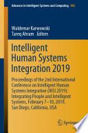 Intelligent Human Systems Integration 2019 Book