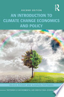 An Introduction to Climate Change Economics and Policy Book