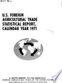 U S Foreign Agricultural Trade Statistical Report Calendar Year